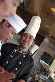 Cocinero mayor Fotografía de archivo