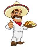 Cocinero mexicano libre illustration