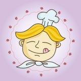 Cocinero-muchacho Imagenes de archivo