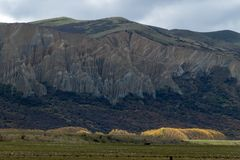 Cocinero National Park, Nueva Zelanda, Oceanía del soporte de Aoraki imagen de archivo