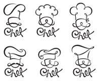 Cocinero Set stock de ilustración