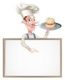 Cocinero Sign del panadero Fotografía de archivo libre de regalías