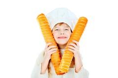 Cocinero sonriente fotos de archivo libres de regalías