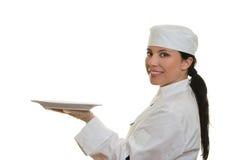 Cocinero sonriente fotos de archivo