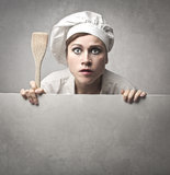 Cocinero sorprendente Imagen de archivo