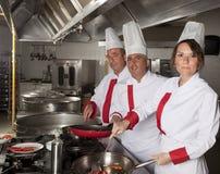 Cocineros Fotografía de archivo libre de regalías