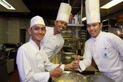 Cocineros Foto de archivo libre de regalías