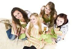 Cocineros adolescentes Foto de archivo libre de regalías