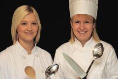 Cocineros hermosos Fotografía de archivo