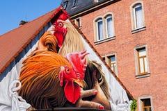 - german Street Art - Bayreuth stock photo