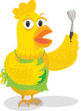 A Cock Showing Strainer Stock Photography