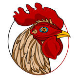 Cock sign Royalty Free Stock Images