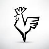 Cock symbol, Stock Photo