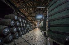Cockburns-Hafenweinkellerei Stockbilder
