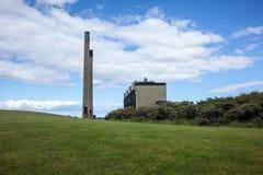 Cockenzie elektrownia podczas rozbiórki Obrazy Stock