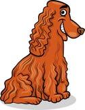 Cocker spaniel dog cartoon illustration Royalty Free Stock Photography