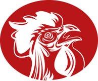 cockerel λαλώντας κόκκορας ελεύθερη απεικόνιση δικαιώματος