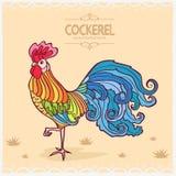 Cockerel απεικόνιση αποθεμάτων