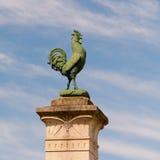 Cockerel atop War Memorial Royalty Free Stock Photos