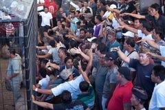 Cockfighting Konkurrenz auf Bali Lizenzfreie Stockfotografie