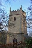 Cockington kyrka arkivbild