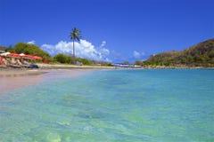 Cockleshell pla?a w St Kitts, Karaiby obrazy royalty free