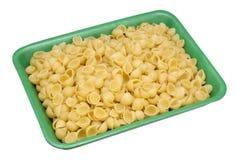 Cockleshells затира в зеленой коробке Стоковые Фото