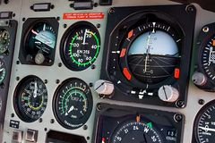 Cockpit Stock Foto
