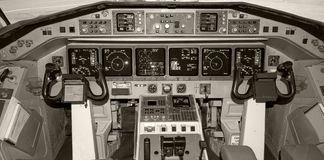 Cockpit. Royalty Free Stock Photography