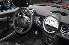 Cockpit. Detail of small car Royalty Free Stock Photography