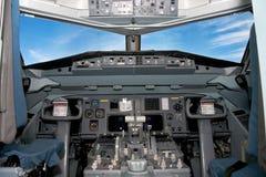 Cockpit stockfoto