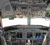 cockpit 2 Arkivfoto