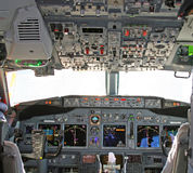 Cockpit 2 stockfoto