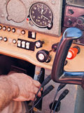 In the cockpit Royalty Free Stock Photography