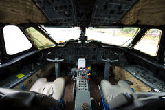 Cockpit Royalty-vrije Stock Foto