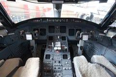 cockpit royaltyfri fotografi