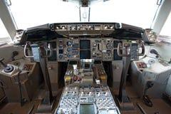 cockpit arkivfoton