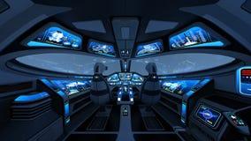 cockpit Lizenzfreies Stockfoto