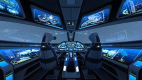 cockpit stock illustratie