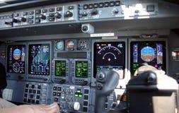 Cockpit royalty-vrije stock fotografie