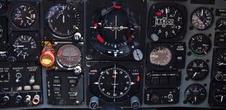 Cockpit Aermacchi Mb339 Lizenzfreie Stockfotos