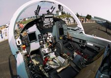 Cockpit of Aero e L-159 ALCA Stock Photography