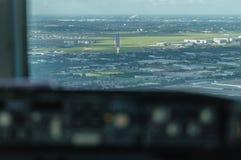 Cockpit Approach Stock Photos