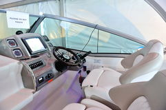 Cockpit of Chaparral 310 Signature Cruiser Stock Photography