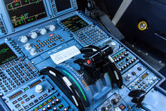 Cockpit console Royalty Free Stock Photos