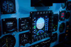 Cockpit control Royalty Free Stock Photo