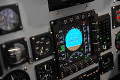 Cockpit control Stock Image