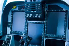 Cockpit control royalty free stock images