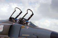 Cockpit des Phantoms F-4 Lizenzfreies Stockfoto