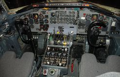 Cockpit equipment Stock Photos